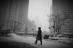 (KevinIrvineChi) Tags: snow chicago snowy snowstorm pedestrian pedestrians chilly michiganavenue snowfall snowcovered streeterville magnificentmile chicagoist chiberia