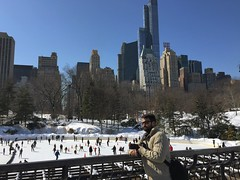 #me #icerink #iceskating #centralpark #manhattan #newyork #newyorkcity #nyc #snow #winter (lelobnu) Tags: nyc newyorkcity winter snow newyork me centralpark manhattan iceskating icerink