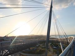 DSCF6840 (ferenc.puskas81) Tags: bridge sea italy europa europe italia mare august ponte agosto abruzzo pescara 2014 pontedelmare