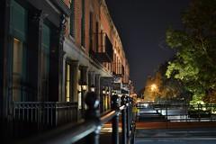 Savannah Bay Street at night (Bo Drinkard) Tags: street night river georgia prime bay sony nighttime savannah ever top500 a6000