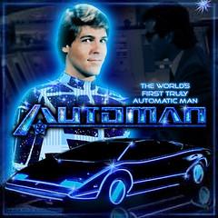 AUTOMANCD (ESP1138) Tags: automan stu phillips twentieth century fox records compact disc mp3 album cover soundtrack