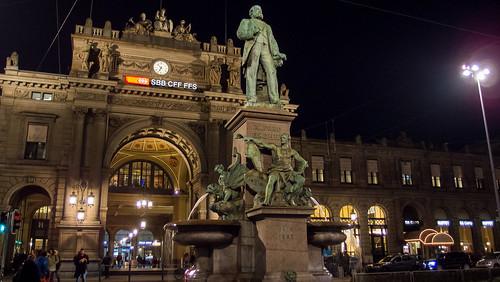 Zurich Hbf Railway Station