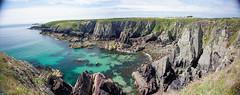 Porth Clais (philmitch771) Tags: stdavids porthclais wales saintdavids unitedkingdom gb seascape water sea cliff rock crag landscape