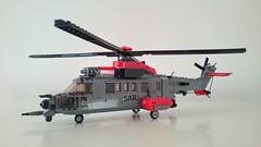 CSAR Super Puma (Luka R) Tags: eurocoper superpuma sar helicopter csar lego military