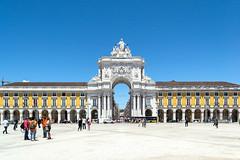 Lisbon (Cark Flowers) Tags: world street city urban portugal architecture place lisboa lisbon urbanism plaadocomercio