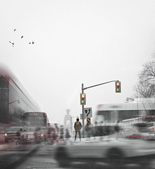 All At Once (Greg Cotton) Tags: friends portrait people canada photoshop doubleexposure surrealism surreal exposures