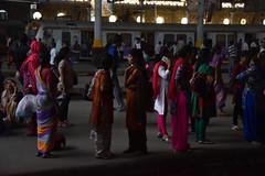 (Rick Elkins Trip Photos) Tags: mumbai maharashtra india woman women chhatrapatishivajiterminus railway station victoriaterminus railroad train passenger womenscar