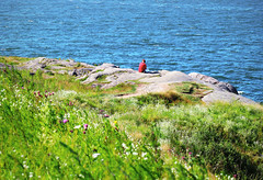 Summer Helsinki (samikahkonen) Tags: helsinki finland summer suomenlinna sea archipelago capital nature rock people suomi