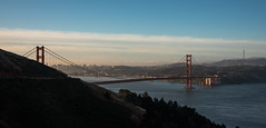 Golden Gate Bridge - Marin Headlands - Sausalito - California - 10 June 2016 (goatlockerguns) Tags: golden gate bridge marin headlands sausalito california goldengatenationalrecreationarea baker beach sanfrancisco west coast coastal bayarea northbay