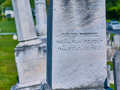 David Young, 1852 (The Fotogrphr) Tags: life old usa white texture church monument nature cemetery grave graveyard sign stone mystery night america dark dead outdoors death sadness grey site bury ancient memorial ruins die catholic peace cross symbol buried stones antique empty grunge headstone faith cemetary religion tomb tombstone dramatic chapel graves historic christian funeral final memory gravestone granite burial marker restingplace rest churchyard spirituality tombstones gravestones isolated grief celticcross mourn funerary morgue departed oldruin