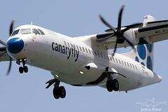 EC-MLF   Canaryfly ATR 72-500   Lanzarote/Arrecife (GCRR/ACE) (Joshua_Risker) Tags: las palmas atr atr72 72500 at75 canaryfly ecmlf