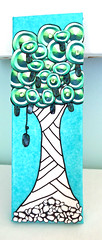 zen tree 1 (playsculptlive) Tags: polymerclay pcagoe playsculptlive zentangle tree