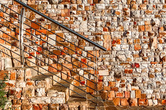 Wednesday Wall (Daniela 59) Tags: wall wallwednesday stones stonework stairs steps banister pattern textures danielaruppel