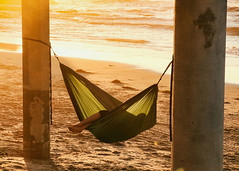 Ocean Beach (blueverbena) Tags: oceanbeach sandiego california beach hammock afternoon