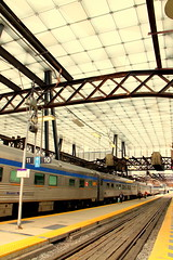 Toronto Union Station (wyliepoon) Tags: railroad station train track shed platform rail railway commuter passenger unionstation trainshed downtowntoronto gotransit thecanadian viarailcanada