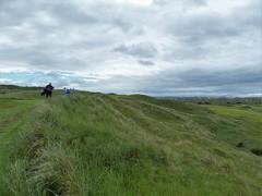 Royal Portrush Dunluce #14 par 3 calamity walk to green 495 (tewiespix) Tags: ireland golfcourse northernireland portrush golfclub dunluce royalportrush