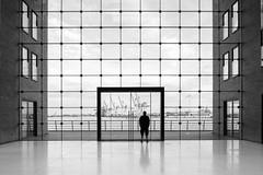 Viewport wide mono (frank_w_aus_l) Tags: hamburg monochrome people hafen port nikon d810 architecture reflection silhouette bw noiretblanc lines pce24 tiltandshiftlens deutschland de seaport