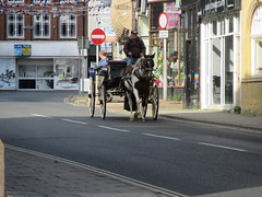 Regent Street (LookaroundAnne) Tags: landau greatyarmouth yarmouth norfolk horse transport carriage