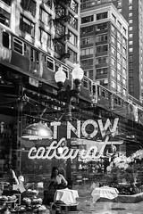 Now Caffienate (mollyporter) Tags: coffee chicago el blackandwhite monochrome coffeeshop