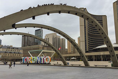 My Town (michaelTO) Tags: 52weeksthe2016edition weekstartingfridayapril222016 week172016 2016 52 52weeks canada cityhall mytown nathanphillipssquare newcityhall ontario postcard project52 toronto torontocityhall torontosign whereilive week17theme