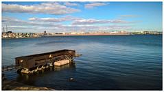 Helsinki from Lauttasaari, spring 2016 (Juha Riissanen) Tags: helsinki harbour sea spring people balticsea suomenlahti finland
