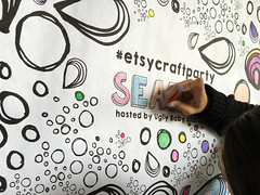 2016 Etsy Craft Party (rosalie_gale) Tags: seattlewa seattlecraftparty uglybabyandlaru pikeplacemarket etsycraftparty etsycraftparty2016 craftparty