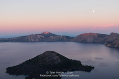 20160816-2R6A0741_export (Tyler Hartje) Tags: crater lake national park oregon water sunset moonrise mountain chemult wizard island summer