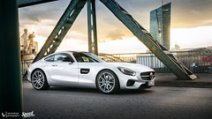Photoshoot Mercedes-AMG GT (Lennard Laar) Tags: mercedes amg mercedesamg gt amggt silver german car sport sportscar cars carspotting carsighting germany frankfurt ecc rent eccrent photoshoot shoot sunset skyline nikon d5100 nikkor 18105 vr lennard laar lennardlaar photography summer 2016