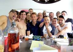 IMG_6568 (danimaniacs) Tags: shirtless man guy hot men smile scruff beard friends party gay