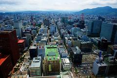 Sapporo downtown (saitok) Tags: afszoomnikkor2470mmf28ged nikondf
