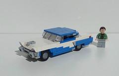 1956 Mercury Montclair (LegoEng) Tags: 1950s 1956 mercury montclair car america american lego legoeng
