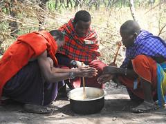 DSCN0286 (David Bygott) Tags: africa tanzania misigiyo maasai ngorongoro nca warrior moran soup olpul