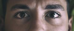 #16 - Eyes (Giuseppe Sensolini Arrà) Tags: eyes occhi marrone brown ciglia sguardo look whatch me now color correction minolta bokeh grading green ryan soldier giuseppe sensolini grain old vintage retrò camera grana rumore fotografico vecchio persone occhio pelle skin