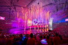 National Day Parade 2016 Singapore (BP Chua) Tags: singapore ndp2016 nationalday birthday stadium indoor national sportshub celebration fireworks firework wideangle nikon d800e people