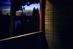 (Patrick J. McCormack) Tags: fuji gw690 kodak portra film 120 analog glow twilight porch summer rangefinder