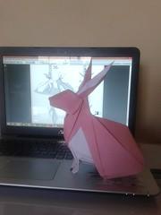 Rabbit - Nguyen hung cuong (javier vivanco origami) Tags: rabbit nguyen hung cuong origami ica peru javier vivanco