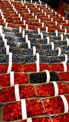 Berries... (Asif A. Ali) Tags: berries canada byward market ottawa summer samsunggalaxynote5 raspberries blueberries blackberry seasonal farmers red blue antioxidant