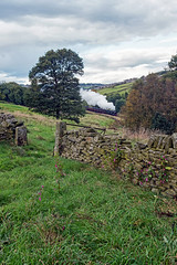 The Bullied at Top Field (FlyingScotsman4472) Tags: kwvr autumn steam gala 9th october 2016 sr 34053 sir keith park top field haworth