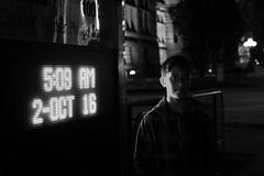 Nico (Ian Muttoo) Tags: dsc74321edit bw toronto ontario canada gimp ufraw nuitblanche 2016 nuitblanche2016 nbto16 street nico nathanphillipssquare night
