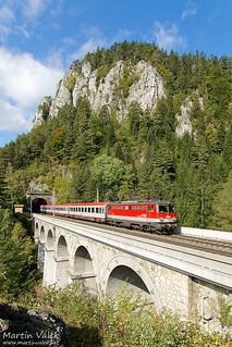 1142.667 ÖBB, ÖBB-IC 252, Krausel-Klause Viadukt, Wolfsbergkogel - Breitenstein (Austria)