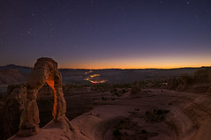 Delicate Arch Sunset (Anish Patel Photo) Tags: arches national park delicate arch sunset stars utah desert