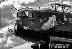 Avro Lancaster NX611 Just Jame (Steve Moore-Vale) Tags: aeroplanes aircraft airplanes aviation avro blackwhite dxf eastkirkby england justjane lancaster lincolnshire nx611 places planes unitedkingdom xfd silverefexpro timelineevents
