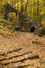 Ulterior Motives (Trespassion) Tags: fall foliage stairs canon canon6d canonusa 12l 50mm