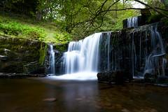 Blaen-Y-Glyn Lower Falls (karlmccarthy1969) Tags: water waterfall longexposure green breconbeacons wales blaenyglyn
