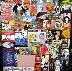 stickercombo (wojofoto) Tags: stickers stickerart stickercombo sticker wojo streetart amsterdam nederland holland netherland wojofoto wolfgangjosten