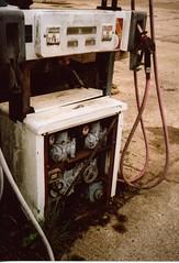 Old petrol station (arturbuzuk1) Tags: agfa vista 35mm epson550 filmisnotdead thirtyfivefuckingmilimeters grainisgood ishootfilmdoyou canon rangefinder