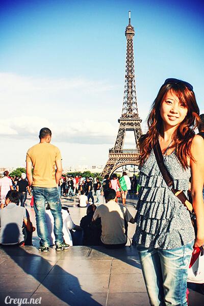 2016.10.09 ▐ 看我的歐行腿▐ 艾菲爾鐵塔,五個視角看法國巴黎市的這仙燈塔 11