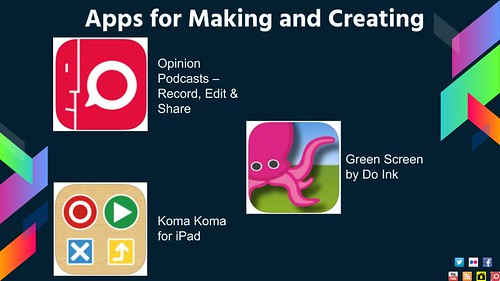 Apps for Making and Creating by shellyfryer, on Flickr
