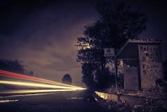 Crossing Borders (bas.handels) Tags: night nightshot longexpo longexposure exposuretime slowshutter nacht nachtopname nachtschot avond evening light lights car cars kerkrade limburg parkstad zuidlimburg aken aachen
