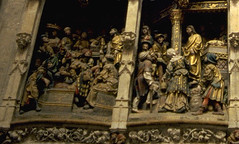 Amiens Cathedral, France (Hipster Bookfairy) Tags: cathedral furnishings sculpture biblical